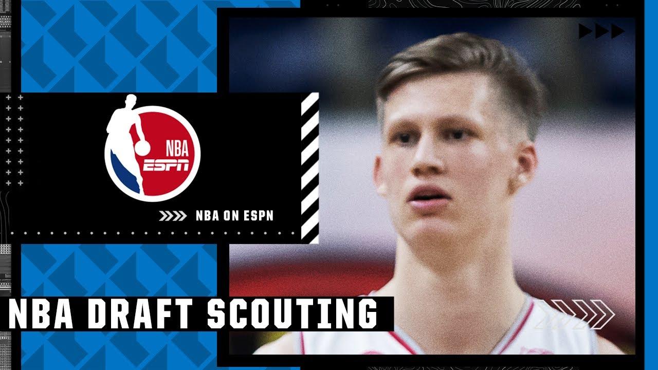 2021 NBA Draft prospect Vrenz Bleijenbergh's film session with Mike Schmitz   NBA Draft Scouting