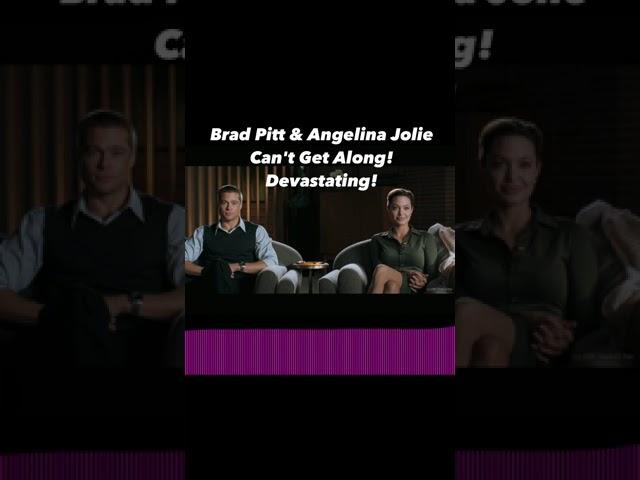 Brad Pitt & Angelina Jolie Can't Get Along! Devastating! | Perez Hilton
