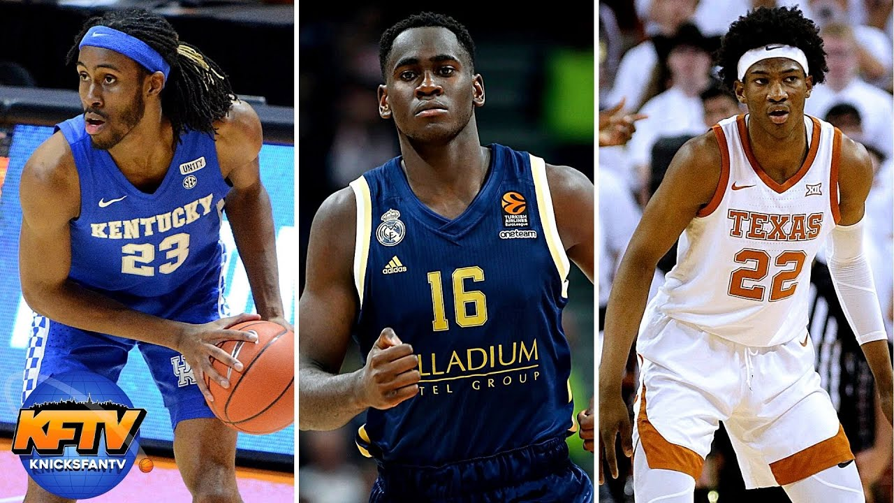 Could The Knicks Take Big Man In The Draft?! | A Breakdown Of The Top Options