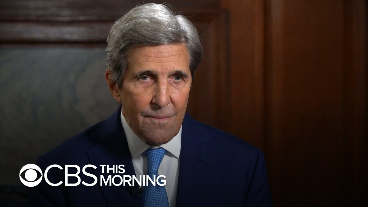 John Kerry tells CBS News that extreme weather around the world makes action on climate change ur…