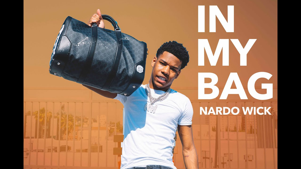 Nardo Wick Keeps A Bag Of Cash On Him To Bless Somebody | HNHH's In My Bag