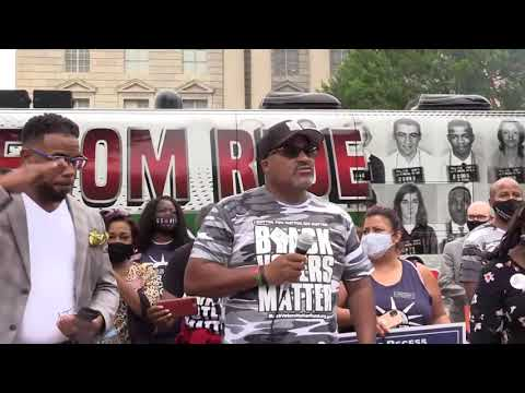 #RecessCanWait Voting Rights protest today led by @BlackVotersMtr @100BlackMen of America