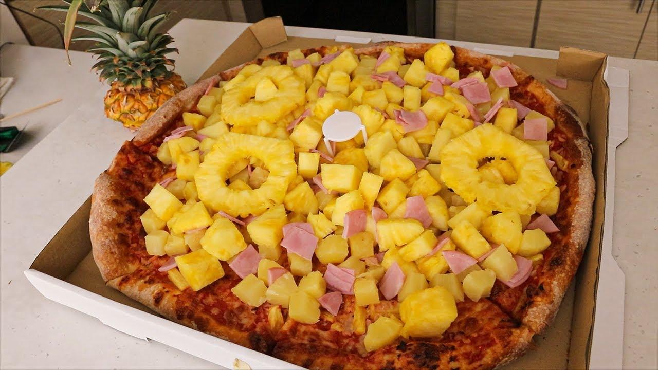 """The """"Most Hawaiian"""" Hawaiian Pizza EVER..."""