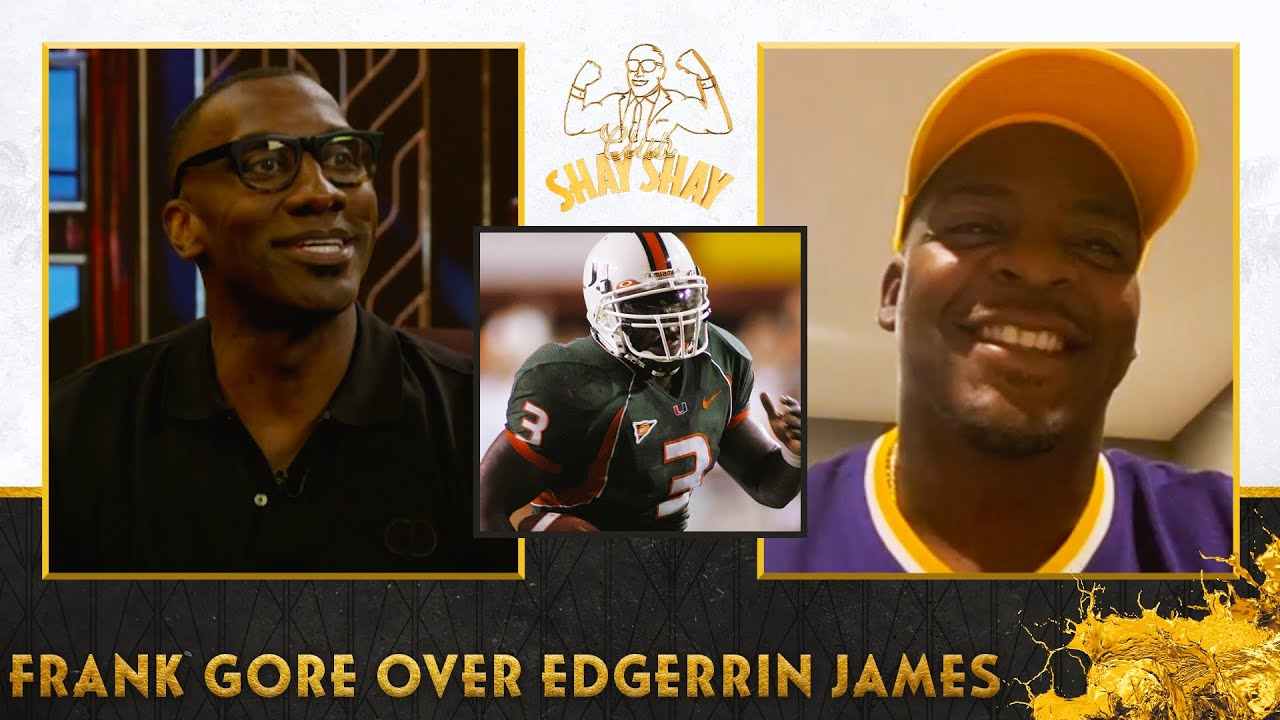 Clinton Portis explains why Frank Gore is best Miami RB over Edgerrin James   EP. 37