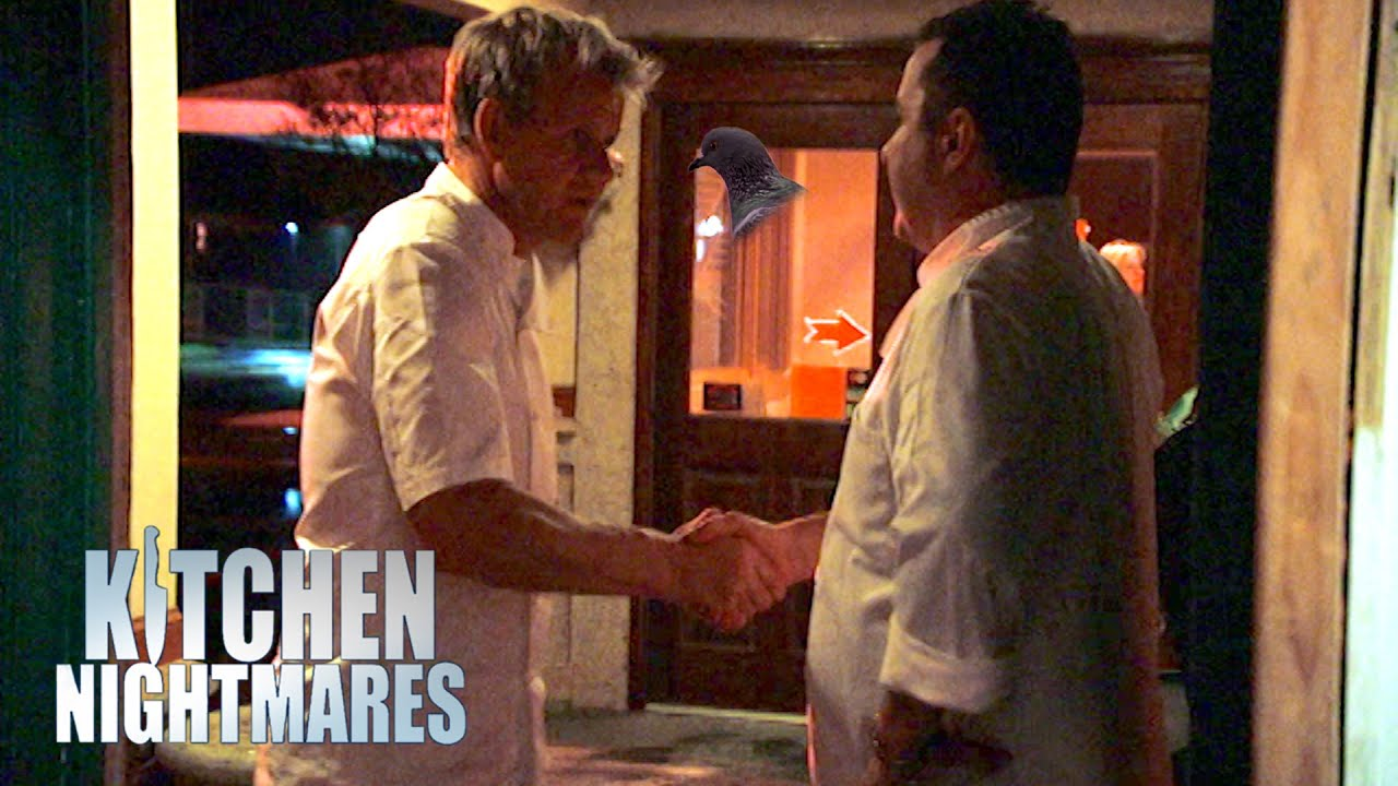 Gordon Ramsay Sympathises With Frustrated Chef | Kitchen Nightmares