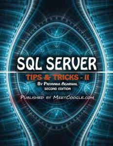 SQL Server: Tips and Tricks – 2