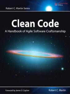 Clean Code – A Handbook of Agile Software Craftsmanship