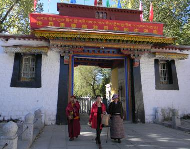 Norbulingka, reşedinta de vară a lui Dalailama