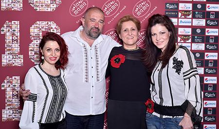 Cu Liliana Turoiu, Mihaela Bachmann si Cătălin Mahu, toți purtând #Zestrea