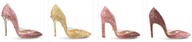 Mihai Albu glitter shoes 2017