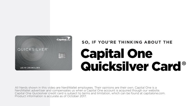 quicksilver capital one reviews