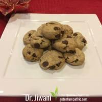 Recipe: Dr. Jiwani's Guilt-Free Chocolate Chip Cookies  (Gluten-Free, Dairy-Free, Soy-Free, Sugar-Free)