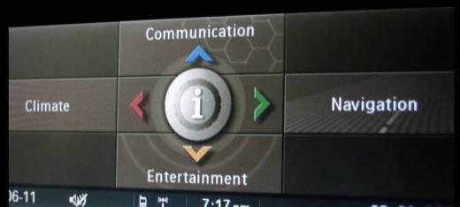 BMW 5 Series CCC Navigation DVD Europe 2018 screen