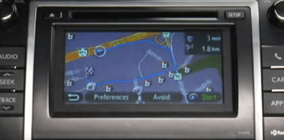 Toyota Camry (XV50) Navigation DVD North America 2018