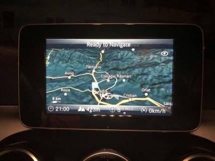 Mercedes C-Class W205 Navigation Maps SD Card 1