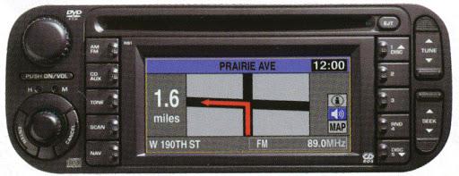 Chrysler Dodge Jeep REC RB1 Navigation Disc Map North America 2020