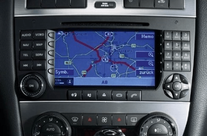 Mercedes Comand NTG2 Navigation Map DVD North America