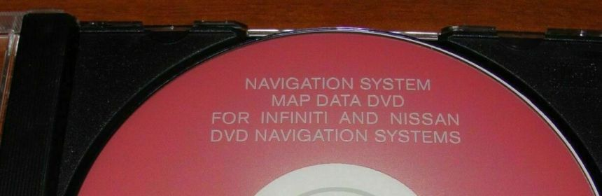 Nissan / Infiniti Navigation Map DVD North America