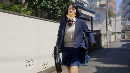Image result for トースト食べながら走る