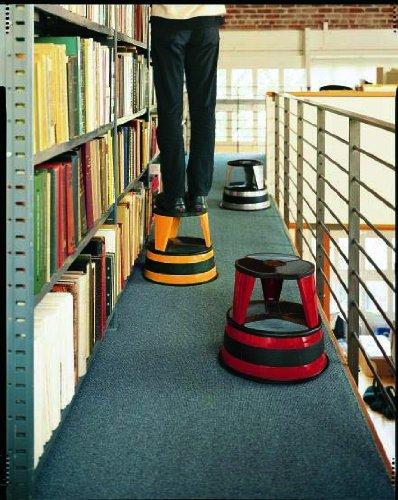 Cramer 100119 Kik Step Rolling Step Stool Beige  Office