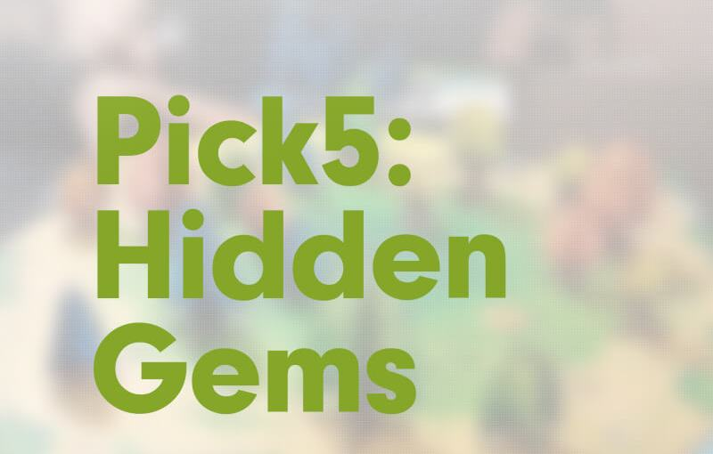 #10: Pick5 Hidden Gems