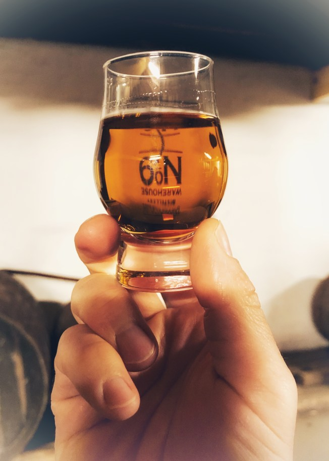 Whisky glass at Bunnahabhain