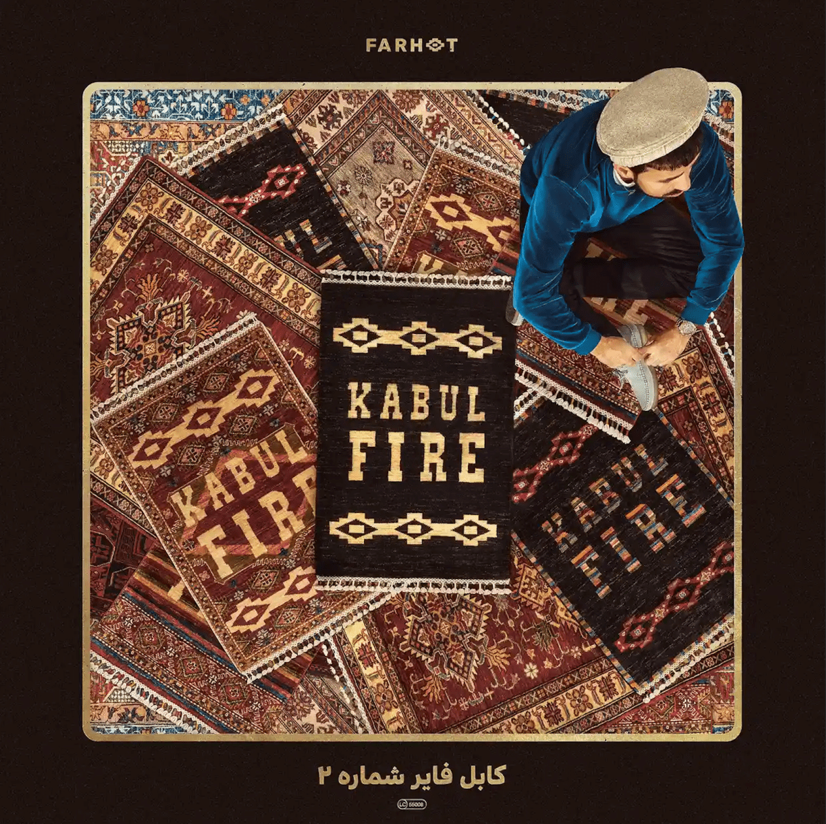 Album cover for Kabul Fire Vol 2 from Farhot.