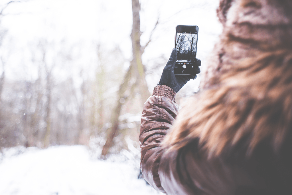 Winter weather can be beautiful, but a dead iPhone is a sad thing