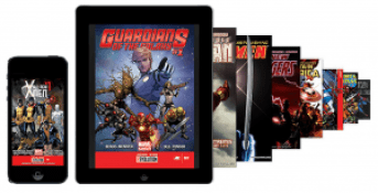 iPhone comic books