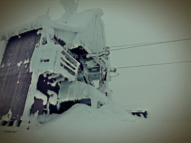 Chair 5 Encrusted in Snow