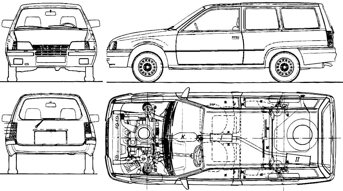 Opel Kadett E Wiring Diagram Auto Electrical 1992 Chevy S10 Blazer Radio Related With