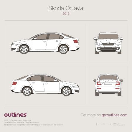 2013 Skoda Octavia Liftback, Typ 5E, Mk3, A7 Hatchback