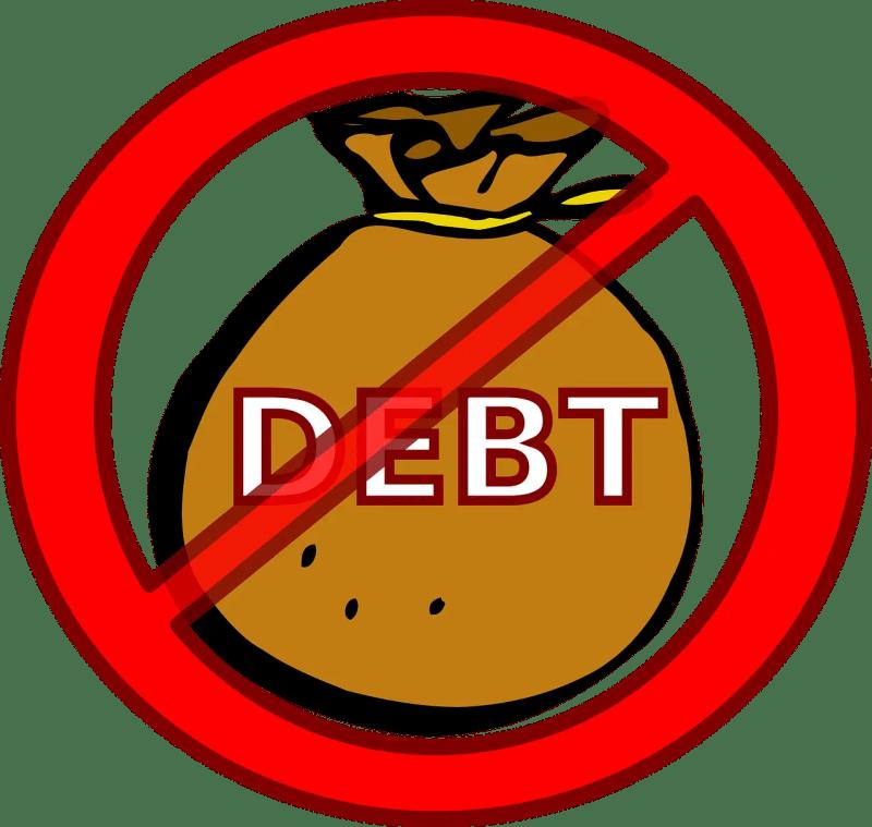 no debt, debt buster