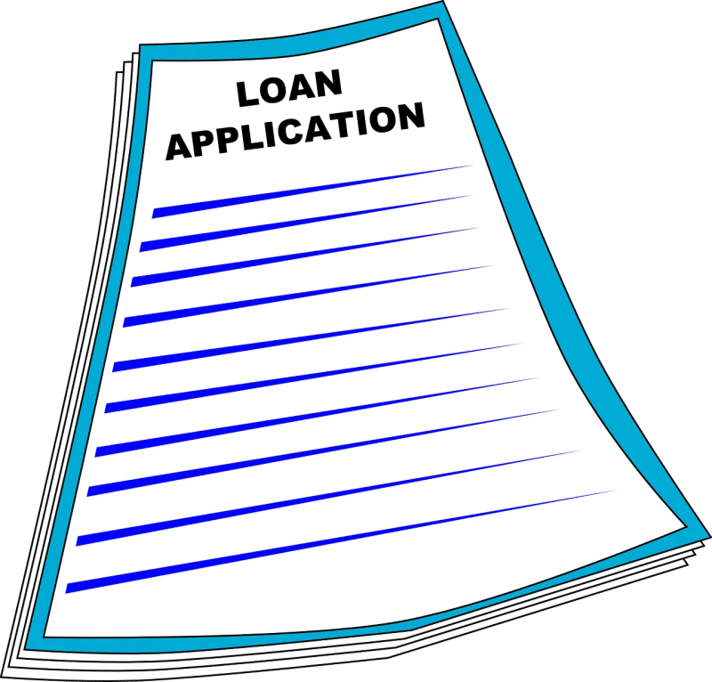 application for a loan