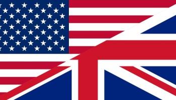 US UK flag