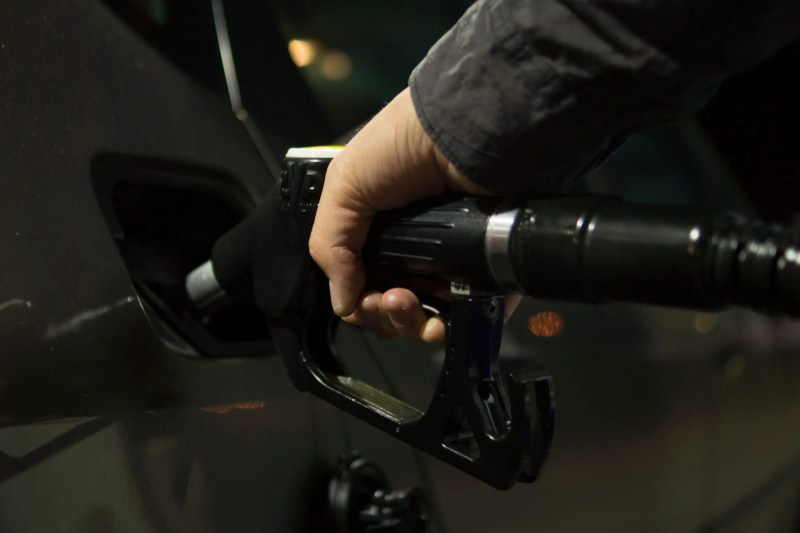 pumping petrol