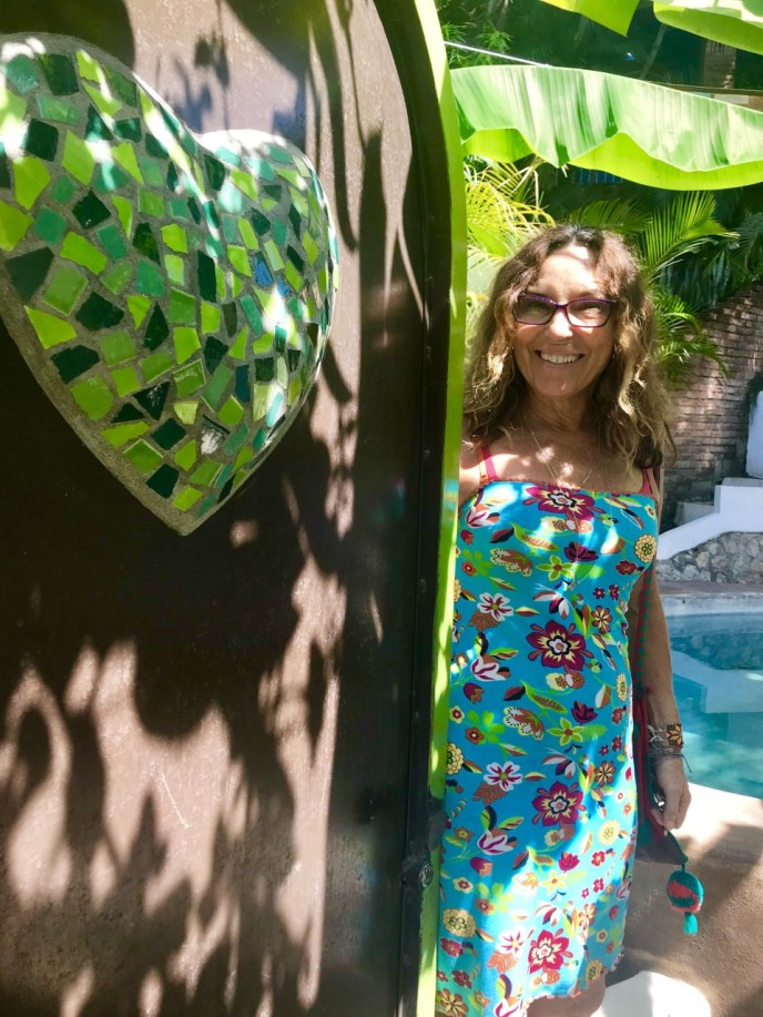 Sayulita Mexico Get Out There Tours Green Heart Door
