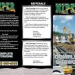 Front of the Niper Brochure