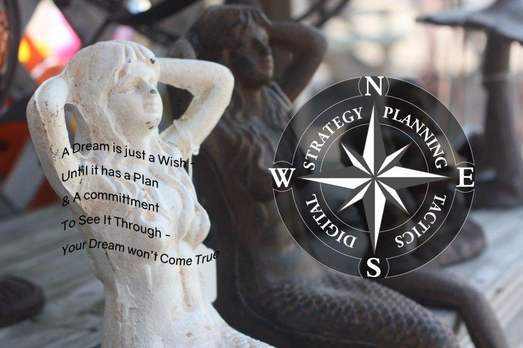 Mermaid statue image for marketing