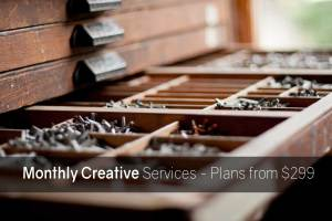 monthly creative services image