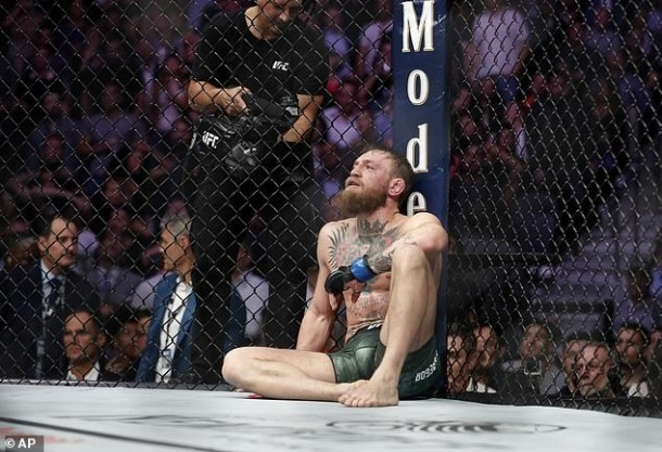 UFC star Conor McGregor admits Khabib Nurmagomedov beats the hell out of him at UFC 229
