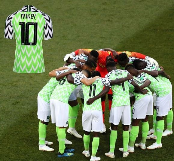 The Super Eagles jersey worn by Mikel Obi during 2018 World Cup has been added to the FIFA museum collection