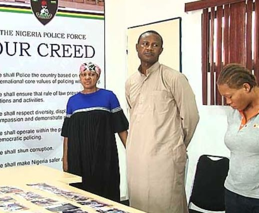 Abia State police arrest three people accused of trafficking 35 pregnant women