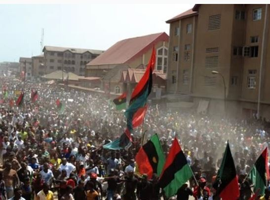 Members of the Biafra Zionists Federation threatento commit mass suicide over the whereabouts of their leader