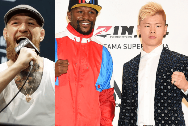 Conor McGregor throws shade at Floyd Mayweather for picking a 20-year kickboxer for his next fight