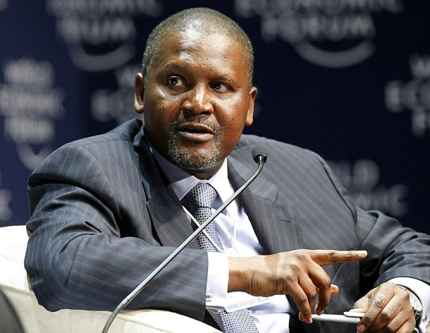 'Ill buy another club if Arsenal won't be sold to me'   Dangote