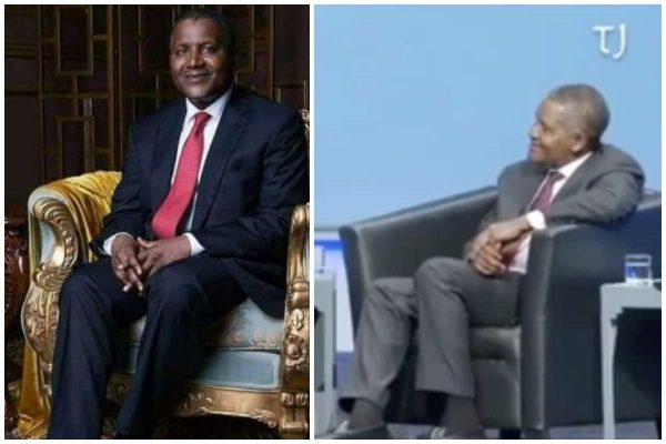 I once withdrew $10m just to look at - Dangote (Video) lailasnews