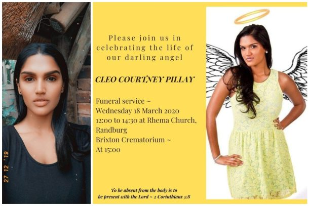 Cleo Pillay found dead after going missing