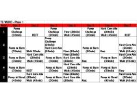 Les Mills Pump Schedule - How Many Days A Week And More ...