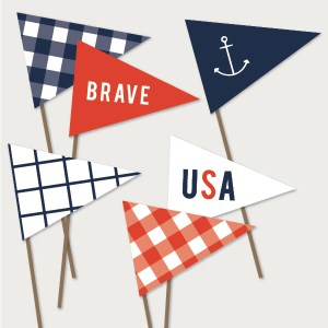 4th july flags